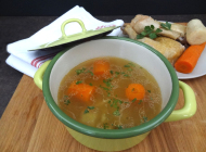 Home-made chicken soup