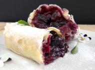 Blueberry strudel