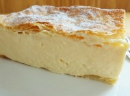 Custard cake from Samobor