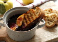 Istrian soup with quince
