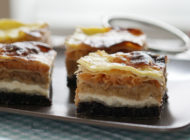 Međimurje gibanica (four filling layer cake)