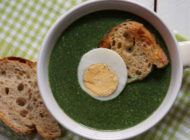 Thick nettle soup