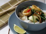 Stir-fry lignje s curryjem