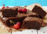 Čokoladni brownie s višnjama