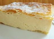 Custard cake from Samobor